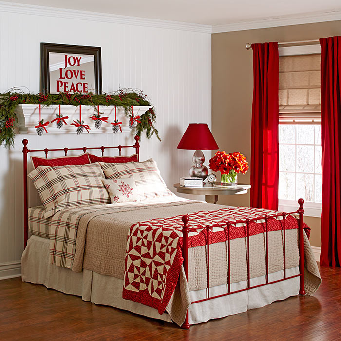 Trang trí nội thất phòng ngủ cho bé ấn tượng đón Giáng Sinh