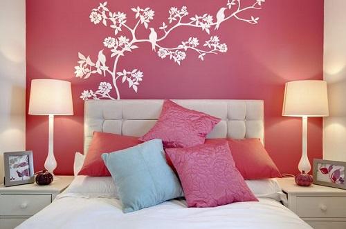 Mẹo trang trí nội thất phòng ngủ mang hơi thở mùa xuân