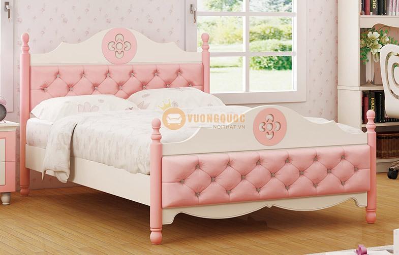 Giường cho bé gái cao cấp HHM907G
