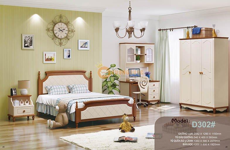 Gường ngủ trẻ em HHMD302G-2