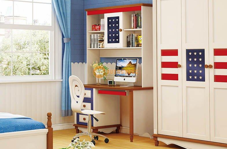 Bộ phòng ngủ trẻ em HHMD301 - Phong cách Mỹ
