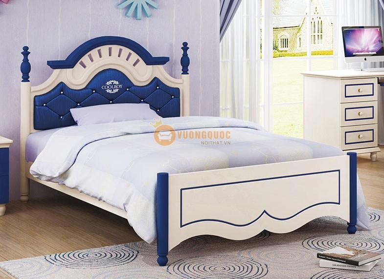 Bộ phòng ngủ cho bé trai xanh dương HHM910A-2