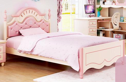 Giường ngủ kiểu dáng công chúa cho bé gái HHM910B-G