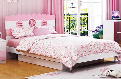 Giường ngủ công chúa cho bé gái HHM808G