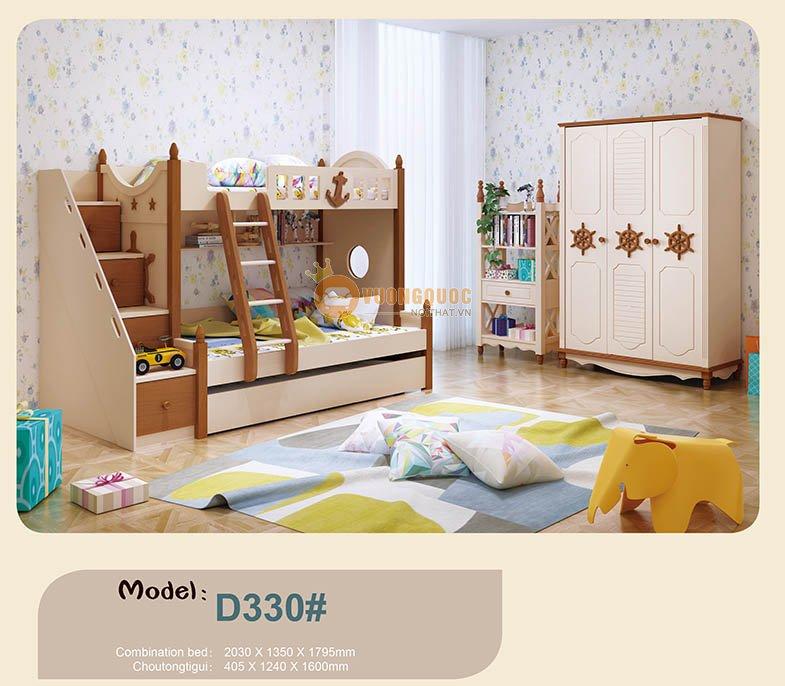 Giường tầng trẻ em mã HHMD330