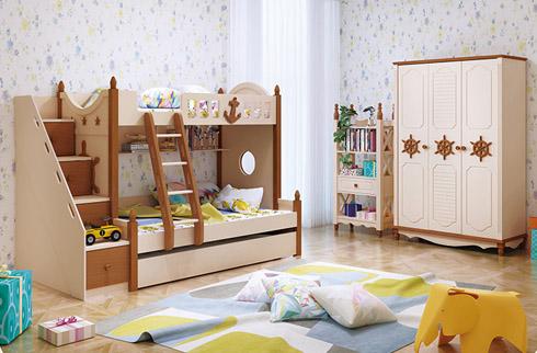 Giường tầng gỗ nhập khẩu HHMD330