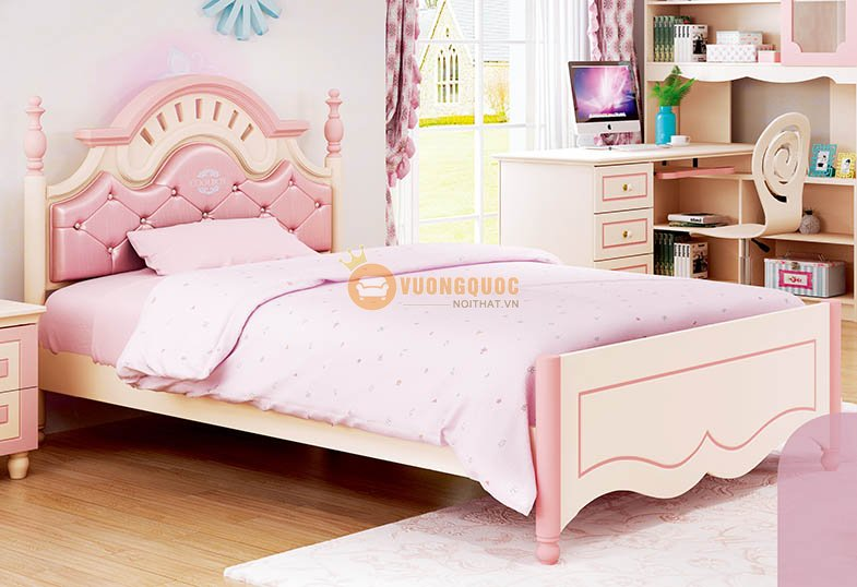Phòng ngủ cho bé gái đáng yêu HHM910B-2