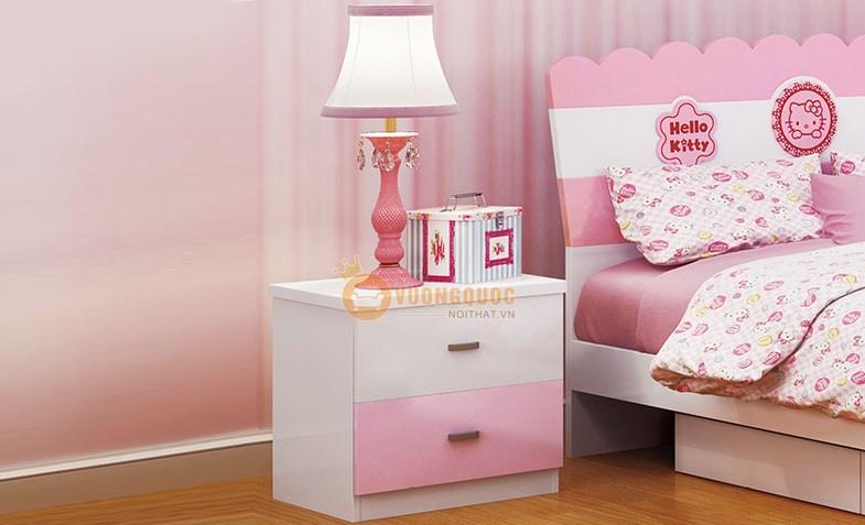 Phòng ngủ công chúa sắc hồng HHM808-2