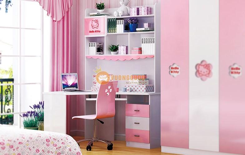 Phòng ngủ công chúa sắc hồng HHM808-3