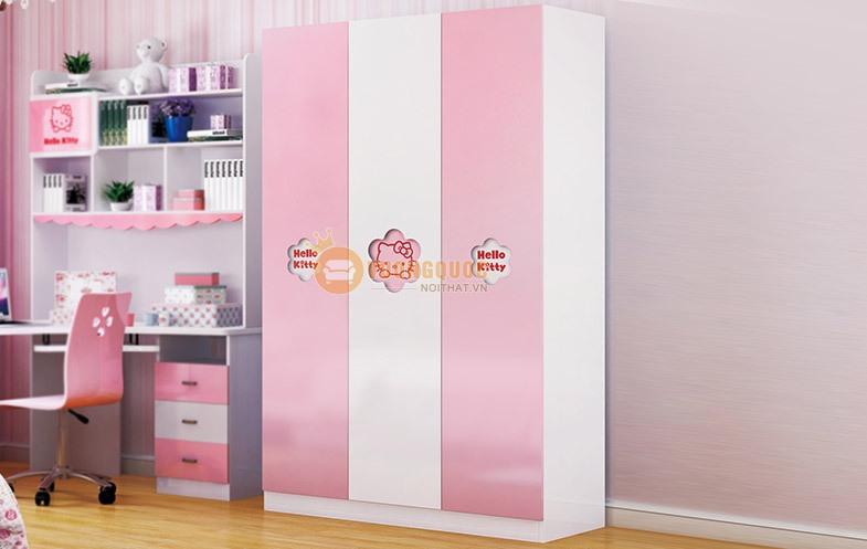 Phòng ngủ công chúa sắc hồng HHM808-4
