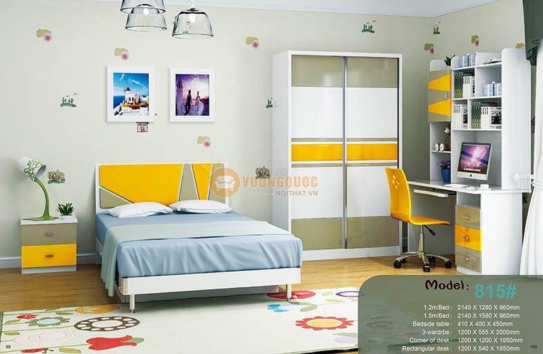 Phòng ngủ trẻ em cao cấp HHM815-1