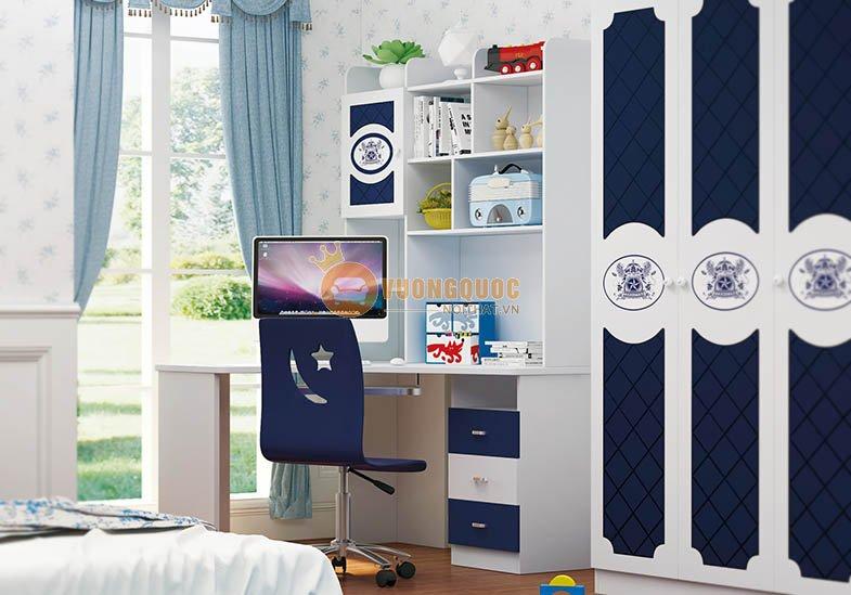 Nội thất phòng ngủ trẻ em nhập khẩu cao cấp HHM823-2