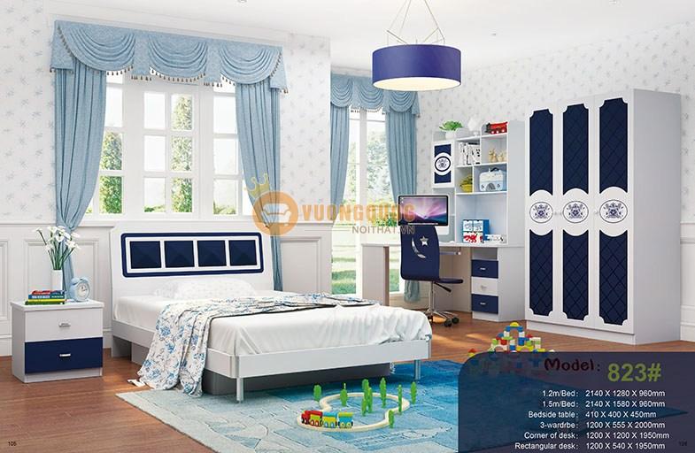 Tủ quần áo trẻ em 3 cánh(HHM823Q)