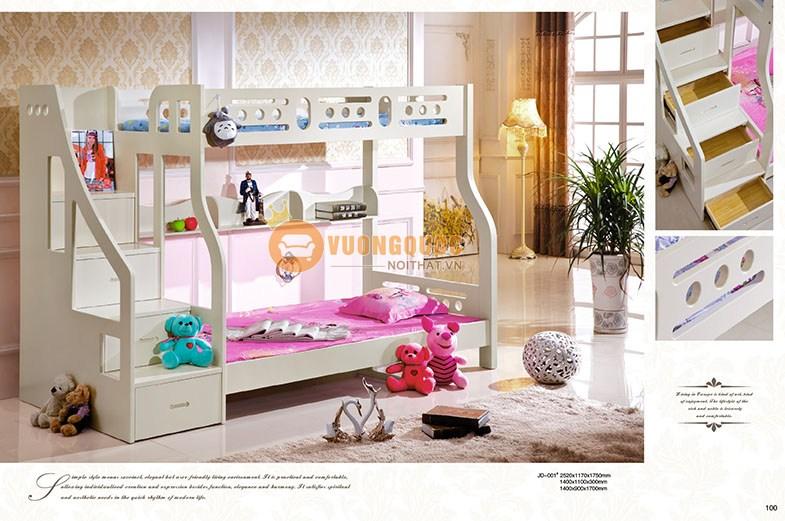 Giường tầng trẻ em đa năng CBLJD001T