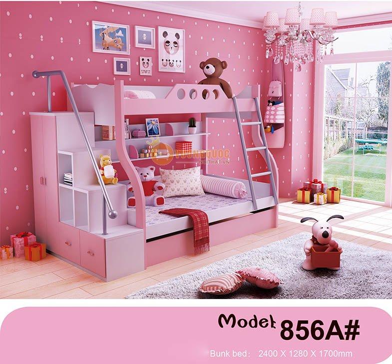 Giường tầng trẻ em đa năng HHM856