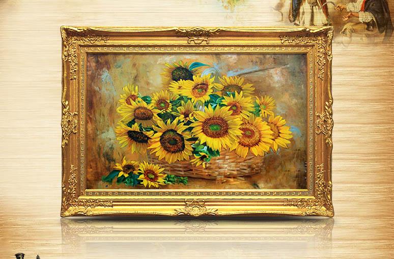 Kiến tạo không gian nghệ thuật với bộ tranh trang trí chất liệu sơn dầu