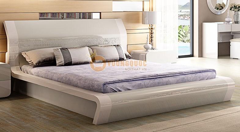 Giường ngủ LJMS801G hiện đại sang trọng