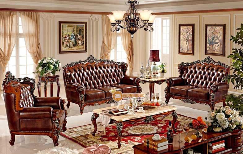 Bàn trà phòng khách mặt đá thiết kế đẹp mắt GDW903+R903BT-1