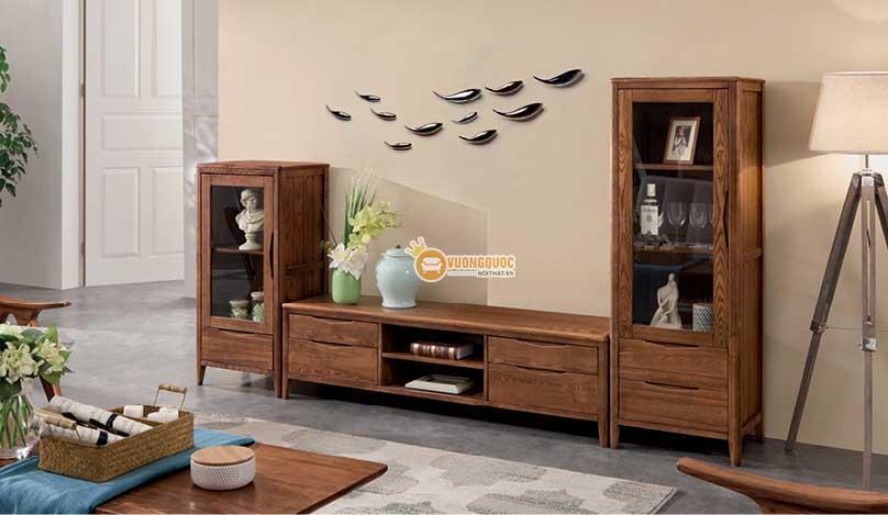 Bộ kệ tivi tủ rượu phòng khách nhập khẩu CGN5H101K-3