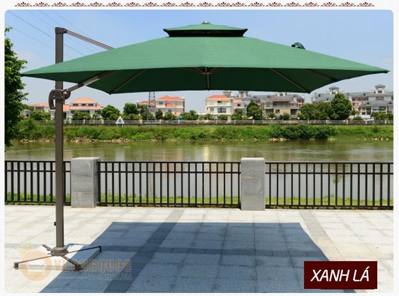 3 mẫu ô dù trang trí nhập khẩu cho quán café ngoài trời