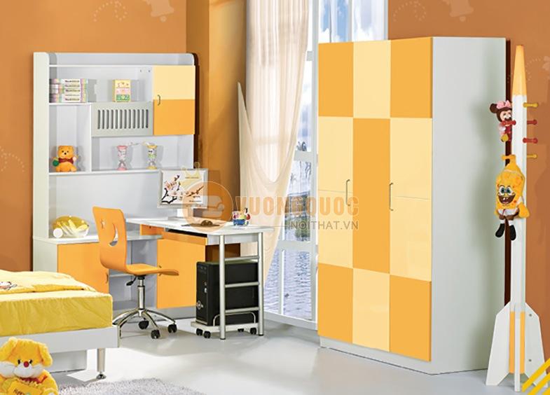 Bộ sưu tập tủ quần áo bằng gỗ MDF cho không gian riêng của bé