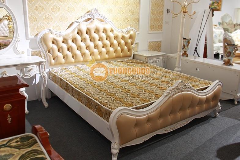 Giường ngủ phong cách tân cổ điển GD708-6