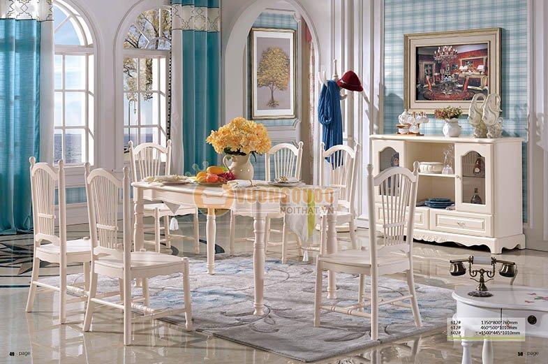 Bộ sưu tập bàn ăn cao cấp ấn tượng cho không gian bếp hiện đại
