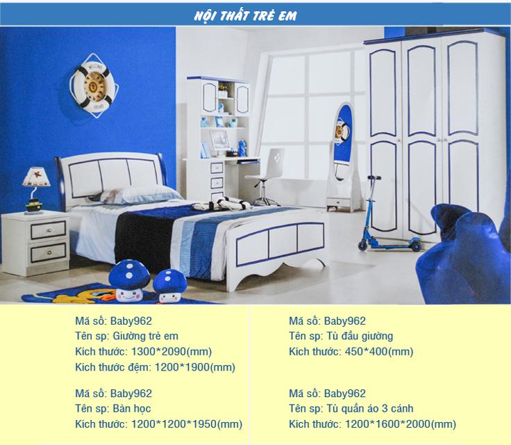 Những mẫu giường ngủ bé trai cao cấp thích hợp với nhà chung cư