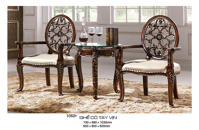 Giới thiệu một số mẫu bàn ghế gỗ phòng khách nhà ống hiện đại