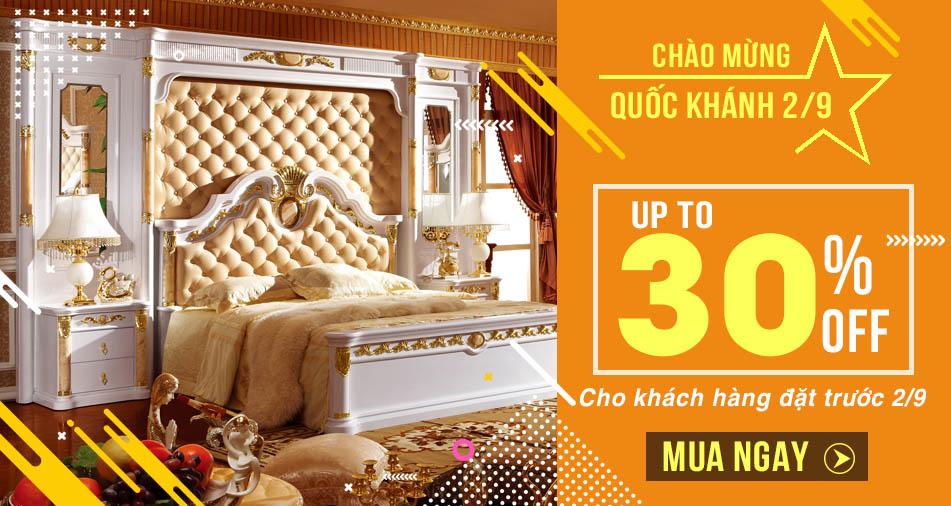 Bộ giường ngủ gỗ sồi – Lựa chọn tuyệt vời cho không gian phòng ngủ