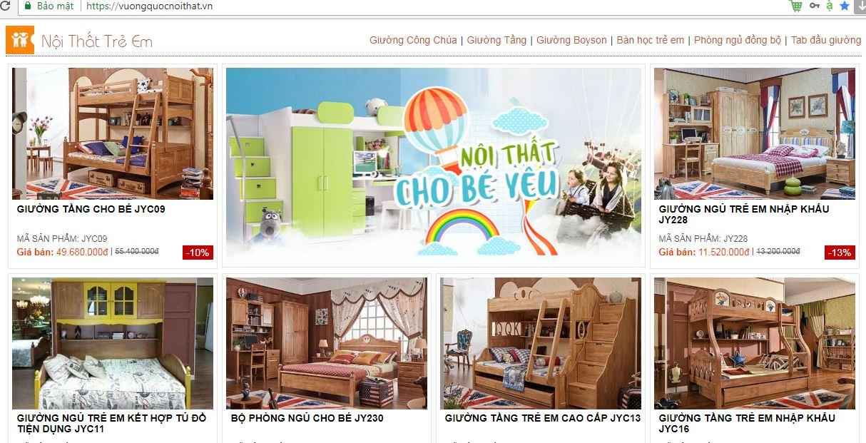Tư vấn: địa chỉ mua giường tầng trẻ em tại Hà Nội uy tín nhất