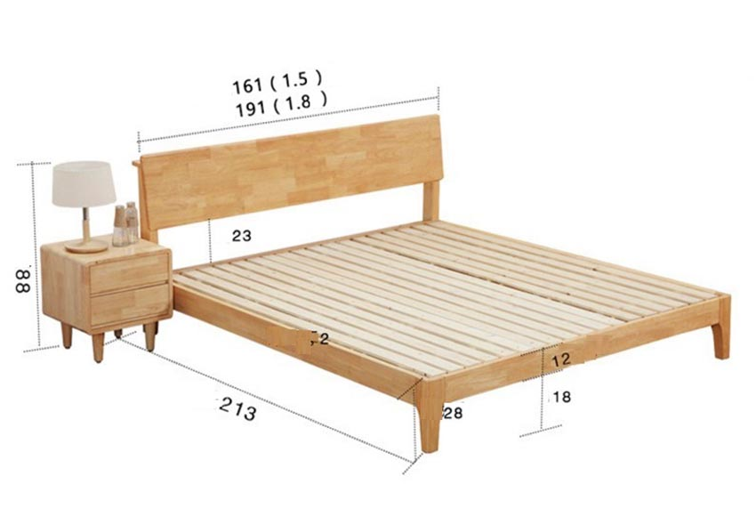 Vì sao nên chọn kích thước giường ngủ theo phong thủy?