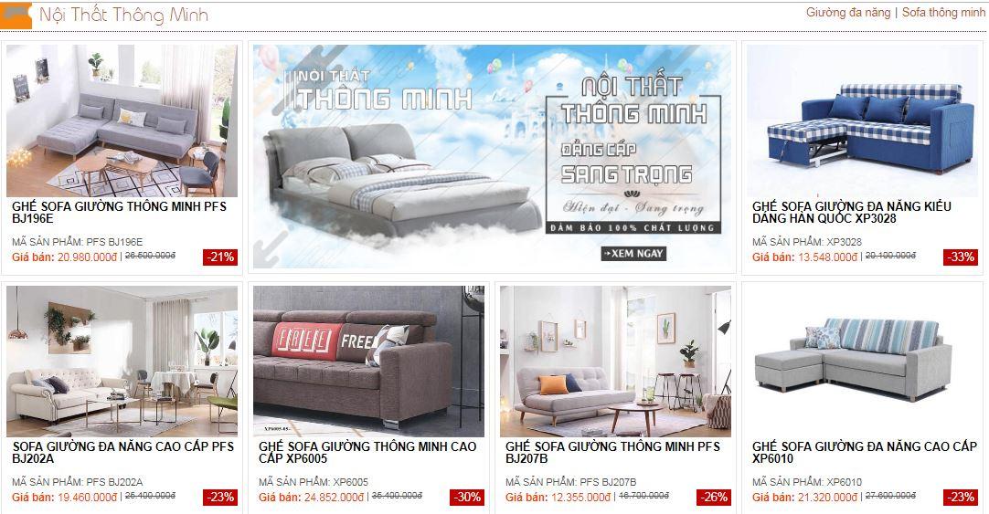 Nơi Mua Sofa Giường đa Năng Tại Ha Nội Gia Rẻ Nhất