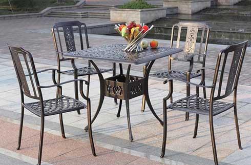 Top 5 bộ bàn ghế sân vườn ngoài trời HOT nhất trên thị trường