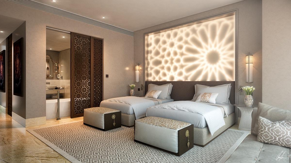 Tham khảo những thiết kế phòng ngủ 2 giường đẹp sang chảnh nhất