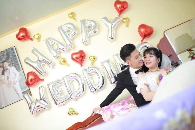"""Gây """"sốt"""" với cách trang trí phòng cưới bằng bóng bay nghệ thuật"""