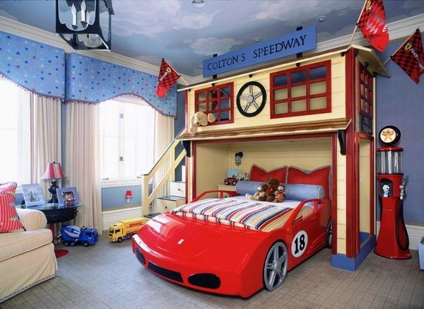 Bắt chước 5 cách trang trí phòng ngủ cho bé trai đầy sáng tạo