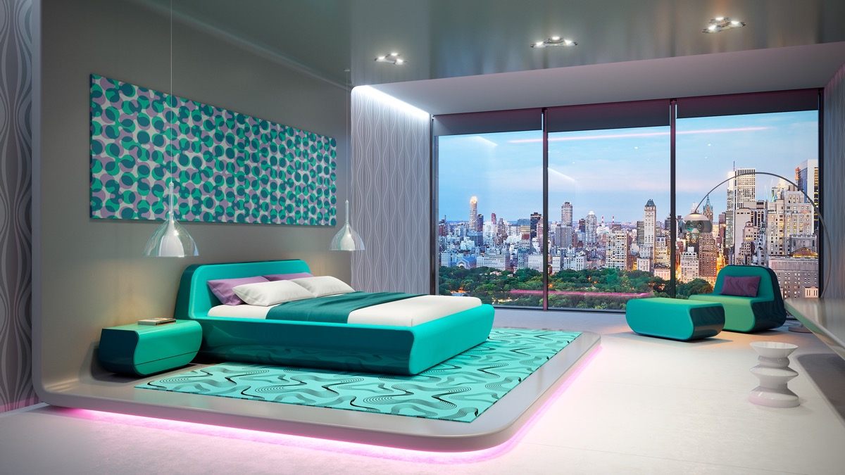 Xu hướng sử dụng nội thất phòng ngủ phong cách hiện đại