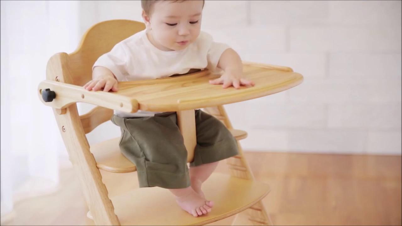 Kinh nghiệm mua sắm ghế ăn cho bé bằng gỗ