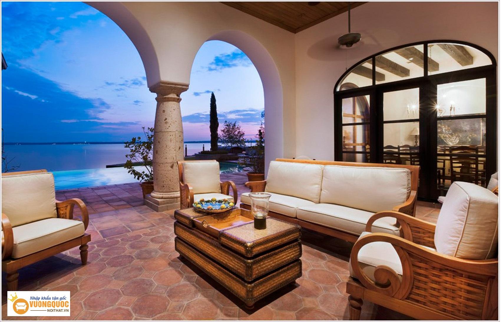 Đặc điểm riêng trong phong cách nội thất Địa Trung Hải