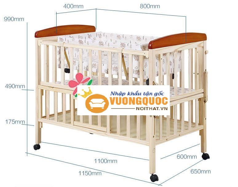 Tư vấn cách chọn kích thước nôi em bé đúng tiêu chuẩn