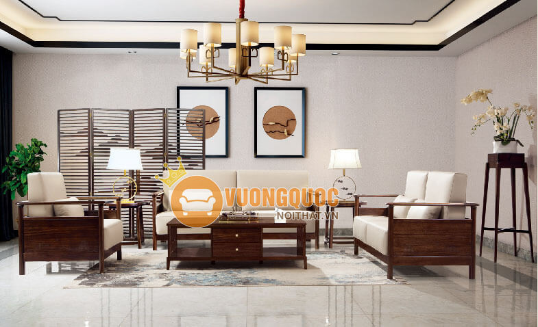 Bộ sưu tập các loại bàn ghế gỗ phòng khách siêu HOT 2020