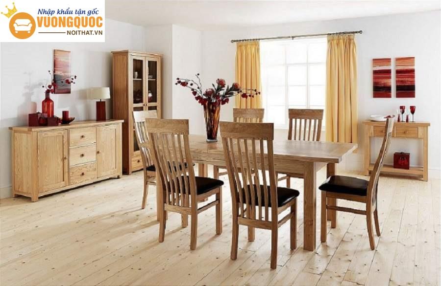 Góc giải đáp thắc mắc: Bàn ghế gỗ cao su có tốt không?