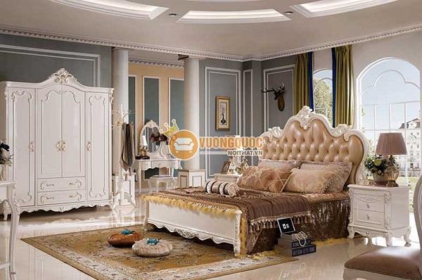 TOP 7 Combo giường tủ bàn trang điểm đẹp, giá rẻ siêu HOT