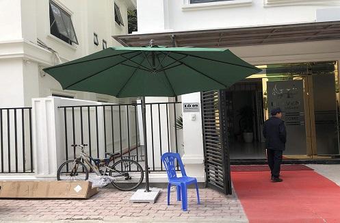 Hoàn thiện ô ngoài trời cột bên cạnh tiện lợi tại nhà anh Song