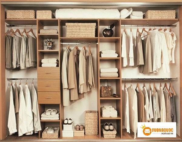 Học lỏm các cách sắp xếp tủ quần áo gọn gàng cực dễ