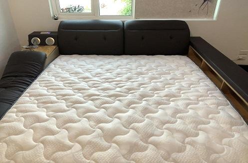 Hoàn thiện mẫu giường ngủ đa năng hiện đại Minami tại nhà chị Nhung