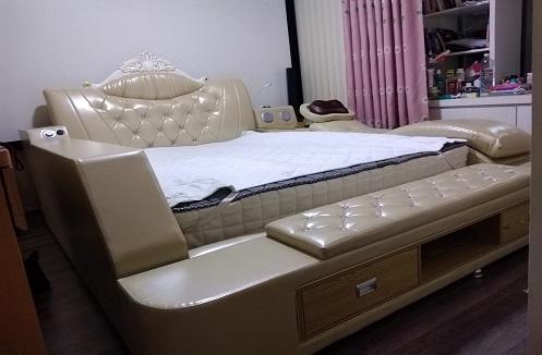 Hoàn thiện giường đa năng thông minh tại nhà anh Huy