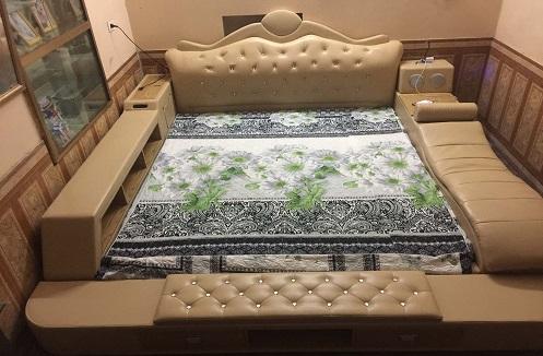 Hoàn thiện giường đa năng cao cấp tại nhà anh Lộc