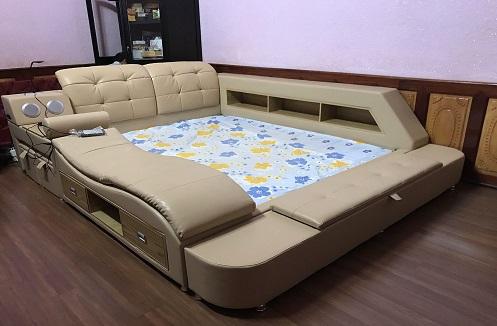 Hoàn thiện giường ngủ đa năng phong cách Châu Âu tại nhà anh Hiếu